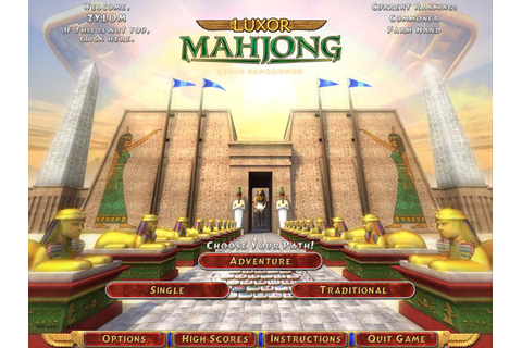 Luxor MahJong | GameHouse