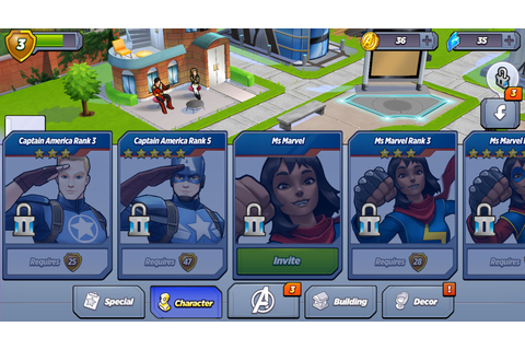 First look: Marvel Avengers Academy gameplay | Android Central