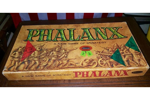 PHALANX Board Game of Strategy War and Siege & Conquest
