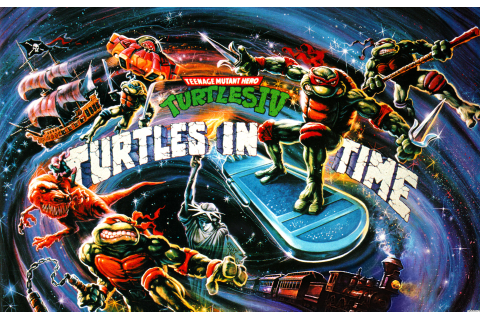 Teenage Mutant Ninja Turtles and TMNT: Turtles In Time Art ...