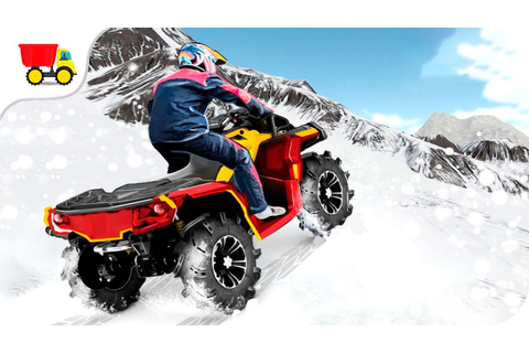 Bike Racing Games - ATV Snow Simulator - Gameplay Android ...