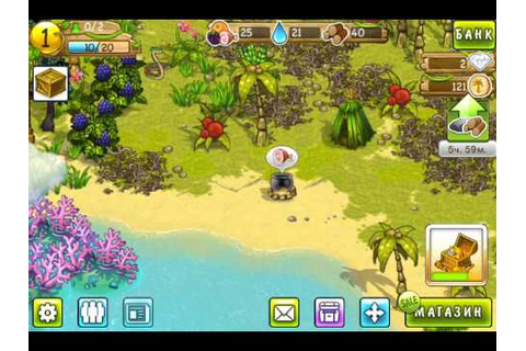 Lost Island HD game ios iphone gameplay - YouTube