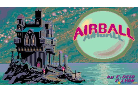 Airball gameplay (PC Game, 1987) - YouTube