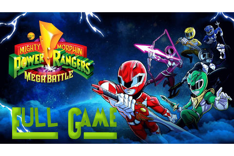 Mighty Morphin Power Rangers: Mega Battle (FULL GAME ...