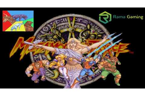 Metamorphic Force (Arcade) - YouTube