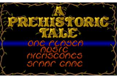 Prehistoric Tale, A Download (1990 Amiga Game)