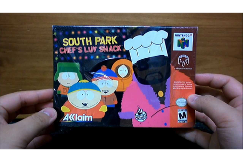 Nintendo 64 Game Unboxing: South Park: Chef's Luv Shack ...