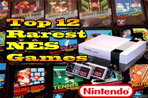 Top 12 Rarest NES Games | Most Expensive NES Games Ever ...