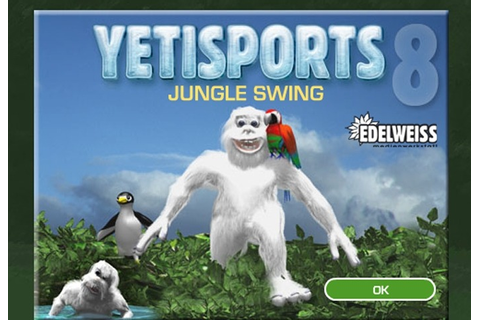Yeti Sports 8 Jungle Swing Game - Play Free Skill games ...