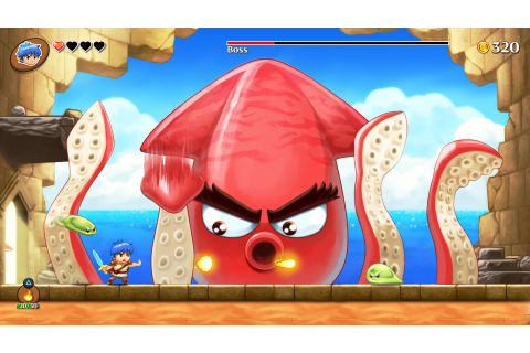 Monster Boy and the Cursed Kingdom - Avance desde Gamescom ...