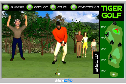 Play Tiger Grand Slam Golf - Free online games with Qgames.org