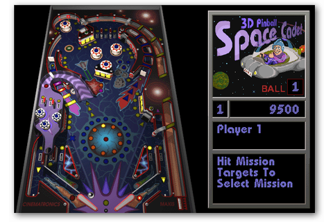 Windows 7, 8 and 10: Install the Classic 3D Pinball Space ...