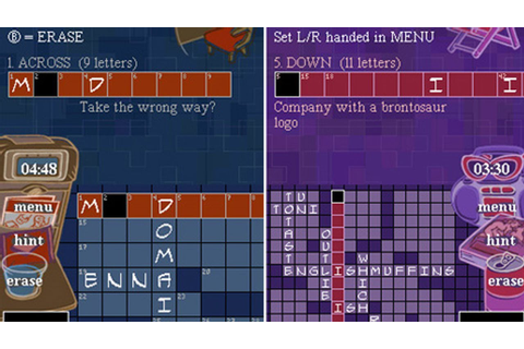 CGRundertow NEW YORK TIMES CROSSWORDS for Nintendo DS ...