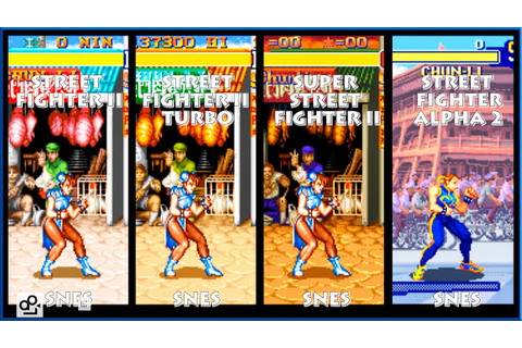 Street Fighter II CHUN-LI Graphic Evolution 1992-1996 ...