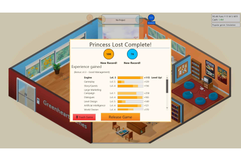 Game Dev Tycoon PC Télécharger Version Complete Gratuit ...