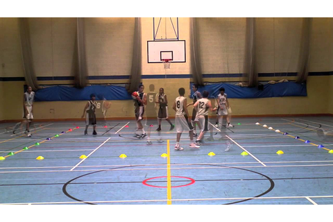Warm-up Games for Youth Basketball: Tag Ball - YouTube