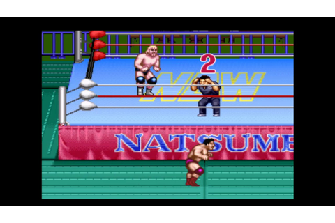 nL Not So Live - Natsume Championship Wrestling! [SNES ...