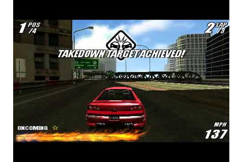 Burnout Legends Sony PSP - YouTube