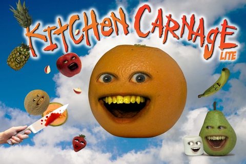 ‎Annoying Orange: Kitchen Carnage Free on the App Store