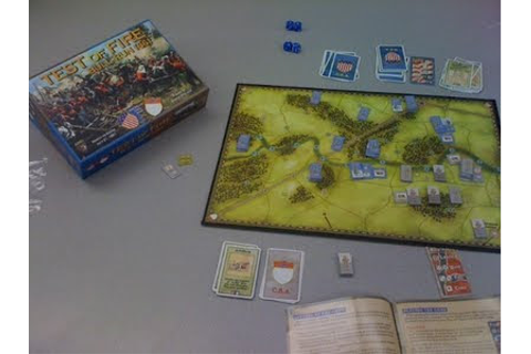 Test of Fire: Bull Run 1861 Review | Board Game Reviews by ...