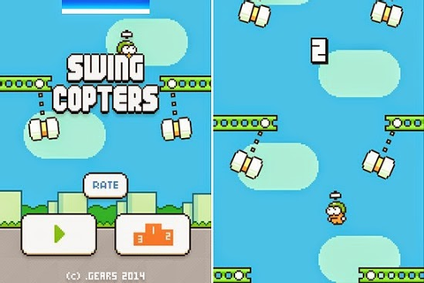 Swing Copters 1.2.0 APK - Android Apps