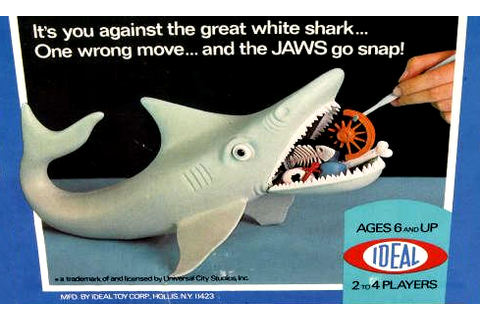 The Game of Jaws – board game (USA, 1975) – HORRORPEDIA