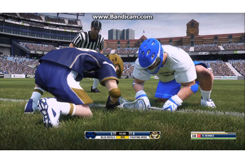 Casey Powell Lacrosse 16 Duke vs. Notre Dame - YouTube
