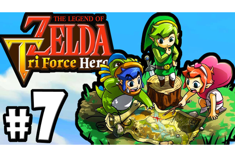 The Legend of Zelda Triforce Heroes PART 7 Gameplay ...