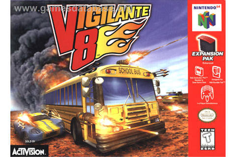 Vigilante 8 - Nintendo N64 - Games Database