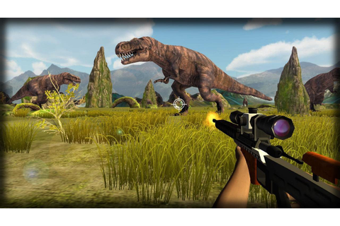Dinosaur Hunter Game Android Gameplay - YouTube