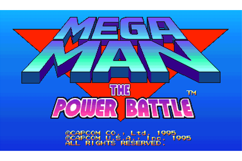 Play Mega Man: The Power Battle Capcom CPS 1 online | Play ...