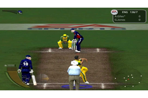 EA Cricket 2005 Gameplay (HARD) - 6 Wickets In 1 Over ...