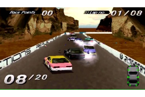 Destruction Derby RAW platinum (PS1 tweedehands game ...