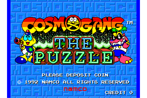 Cosmo Gang: The Puzzle — StrategyWiki, the video game ...
