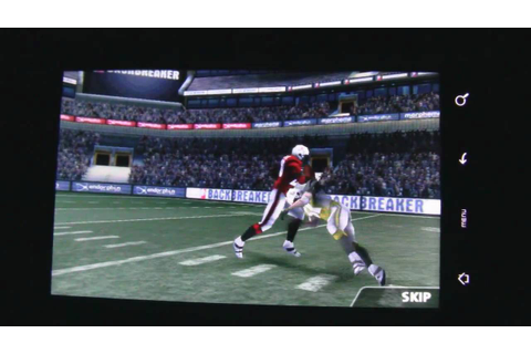 Backbreaker Football Game for Android - YouTube