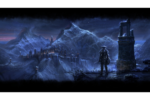 The Elder Scrolls Online, Video Games, Mmorpg, Fantasy Art ...