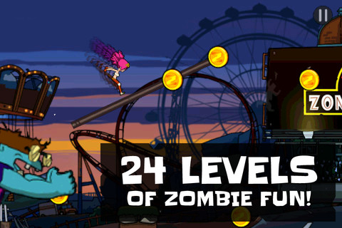 Free Zombie Game: Zombie Parkour Runner for iPhone and ...
