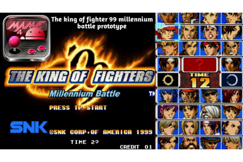 Download - The king of fighters 99 millennium battle ...