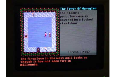 Tower of Myraglen Game Review (Apple IIGS) - YouTube