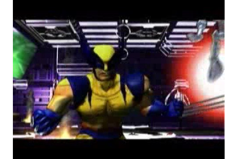 X-Men Mutant Academy 2 Intro Playstation One - YouTube