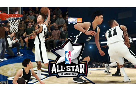 360 DUNK ON LONZO BALL IN THE ALL STAR GAME! NBA 2K18 My ...