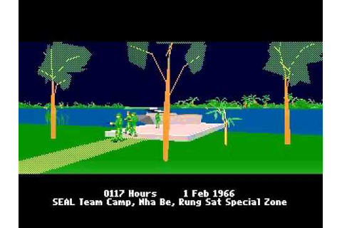 PC DOS Seal Team Gameplay - YouTube