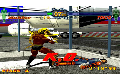Classic Game: Fighting Vipers(Xbox Live Arcade Game) - YouTube