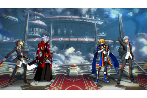 BlazBlue Cross Tag Battle Crossover Fighting Game Announced