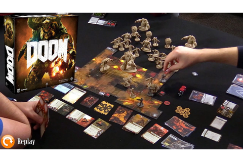 DOOM: The Board Game - Gameplay & Discussion - YouTube