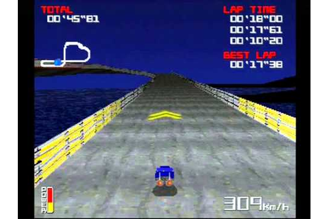 Hover Racing, a very obscure PS1 racing game - YouTube