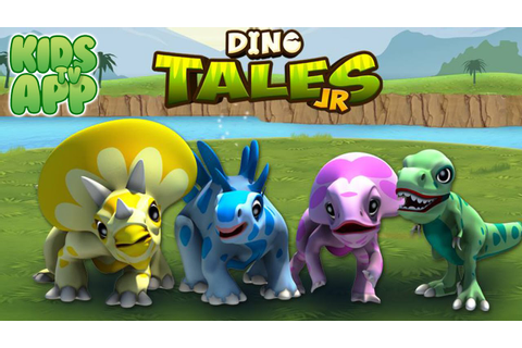Dino Tales Jr (Kuato Games) - Best App For Kids - YouTube