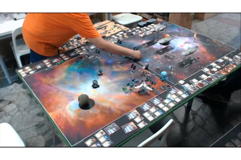 Star Wars X-Wing Miniatures Game Big Battle - YouTube