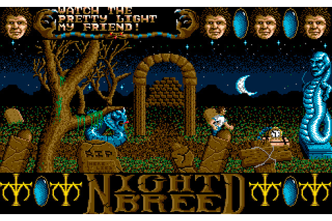 Clive Barker's Nightbreed: The Action Game (1990 - DOS ...
