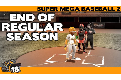 Will we make the playoffs? Super Mega Baseball 2 game 18 ...